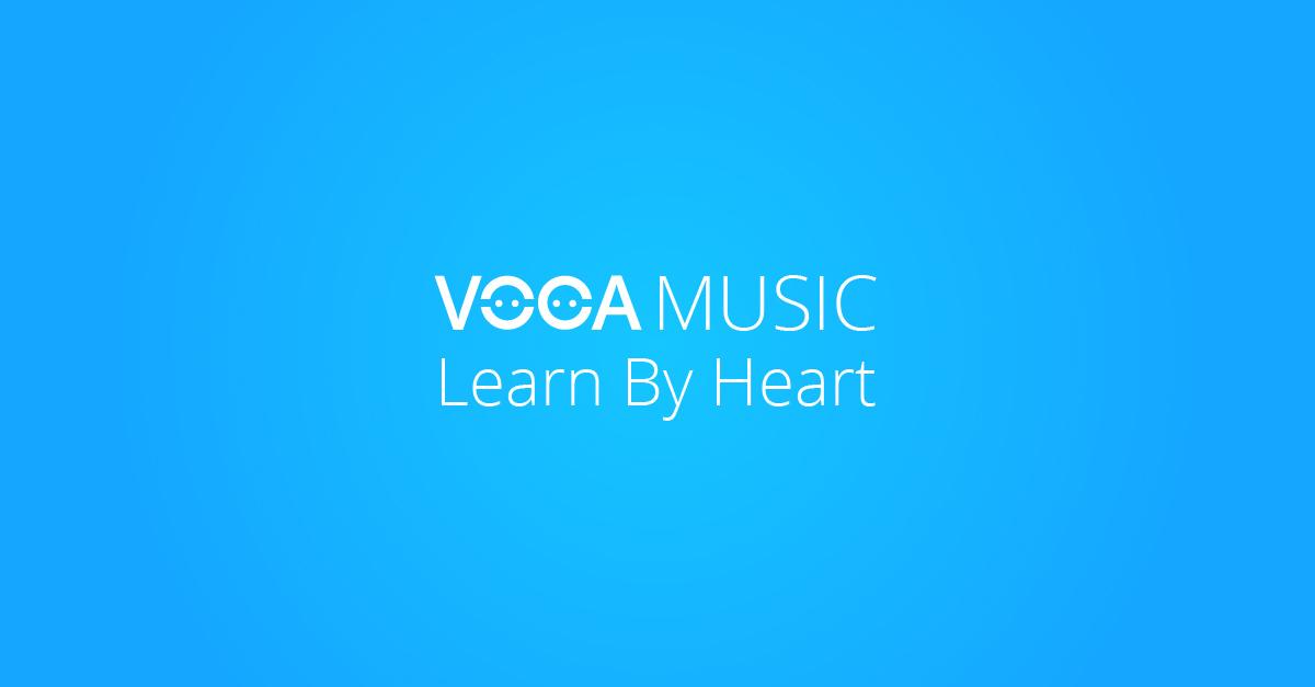 Hướng dẫn bước học từ vựng với VOCA Music