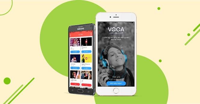 Cách học ứng dụng VOCA Music trên Smartphone